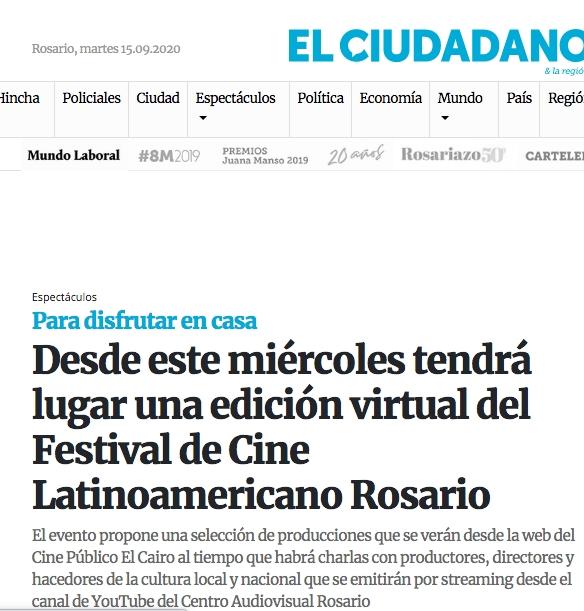 Festival de Cine Latinoamericano Rosario