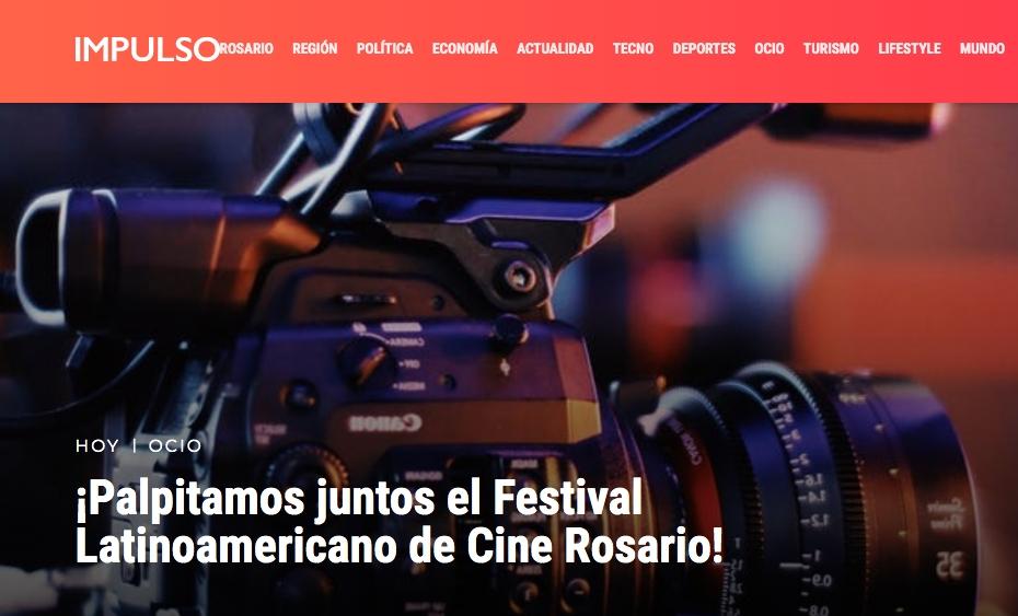 ¡Palpitamos juntos el Festival Latinoamericano de Cine Rosario!